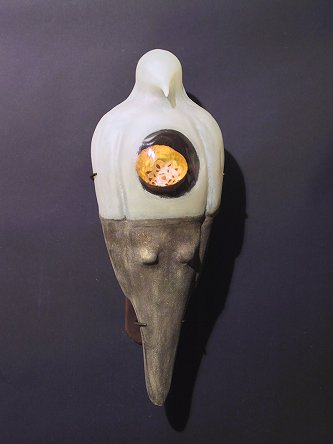 mixed media sculpture by Jeanne Brennan